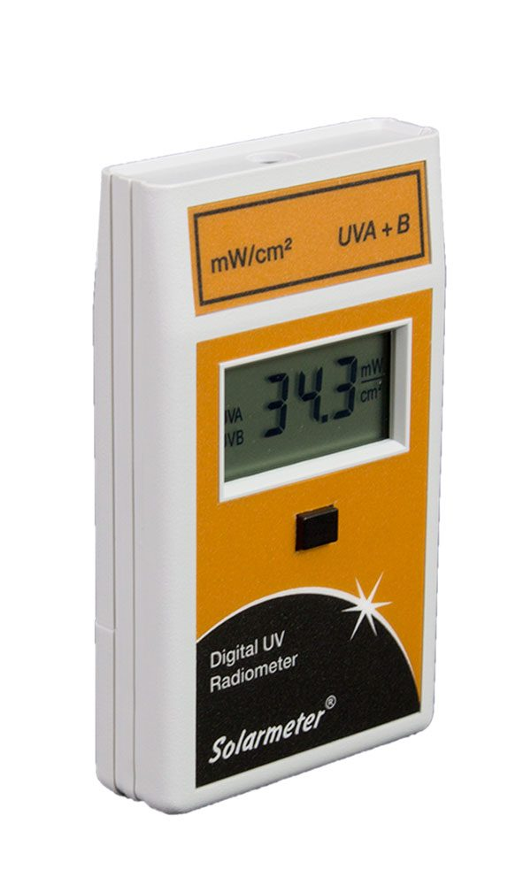 Solarmeter Model 5.0 Total UV (A+B) Meter mW/cm²