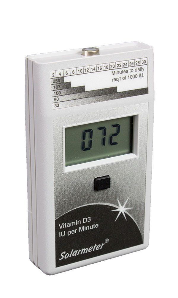 Solarmeter Model 6.4 Vitamin D3 Meter IU/Min