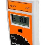 Solarmeter Model 7.0 UV Erythemally Effective Meter (Eeff) MED/Hr