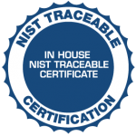 NIST Traceable Calibration-0
