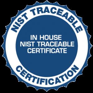 NIST Traceable Calibration-0